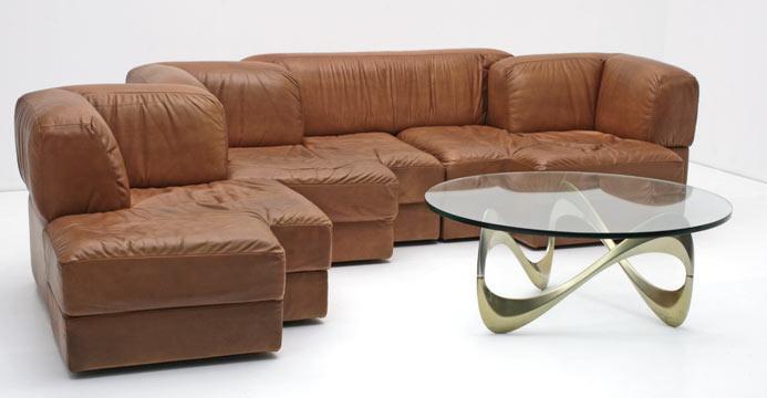Modulares ledersofa 3627 leder sofas sofa bogen33 for Sofas rinconeras modulares