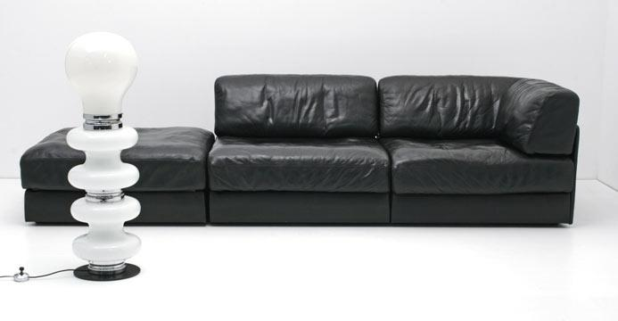 de sede ds 76 ledersofa 3649 leder sofas sofa. Black Bedroom Furniture Sets. Home Design Ideas