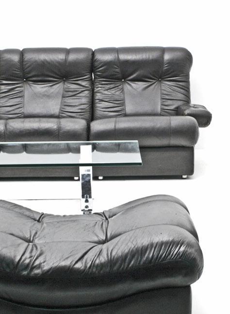sofagruppe 60er jahre 3651 leder sofas sofa bogen33. Black Bedroom Furniture Sets. Home Design Ideas