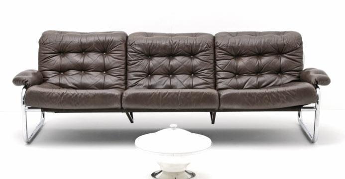 Bogen33 sofa leder sofas sofa 70er jahre 3709 for 70 er jahre couch