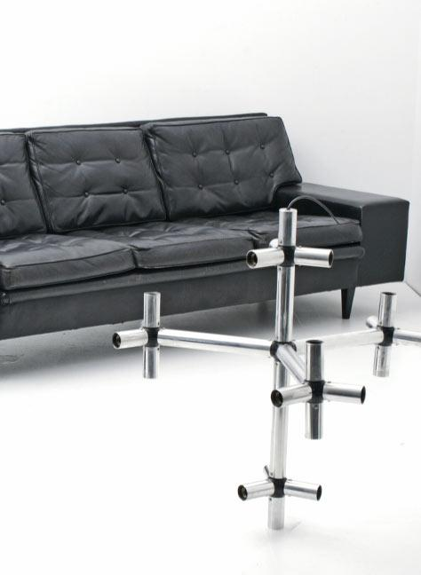 60er jahre sofa und hocker 3763 leder sofas sofa for Couch 60 jahre