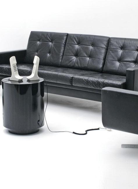 60s vintage sofa 3764 leder sofas sofa bogen33. Black Bedroom Furniture Sets. Home Design Ideas
