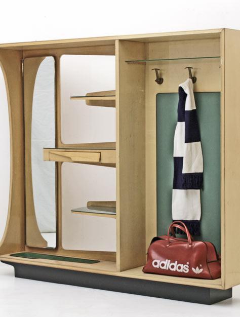 Garderobe 50er jahre 3797 div schr nke schrank bogen33 for Garderobe italienisches design