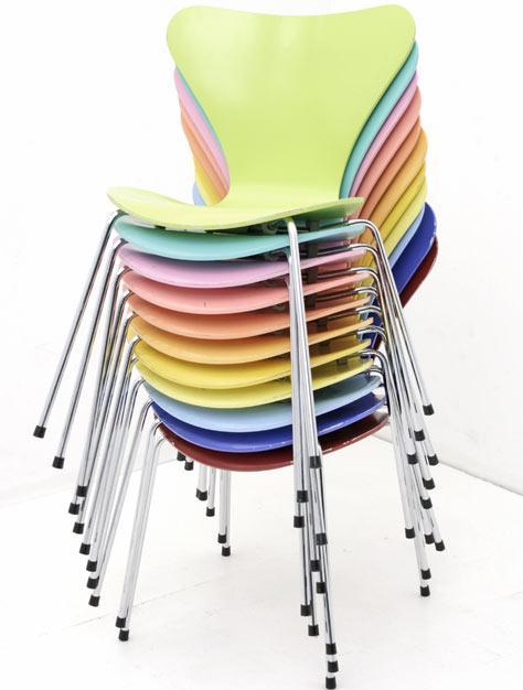 arne jacobsen 3941 div st hle stuhl bogen33. Black Bedroom Furniture Sets. Home Design Ideas