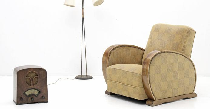 Art Deco Sessel - 3