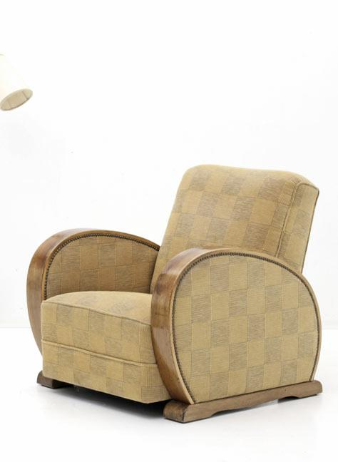 Art Deco Sessel - 0
