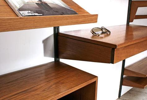 Wohnwand teak 4341 sideboard schrank bogen33 for Wohnwand 60er