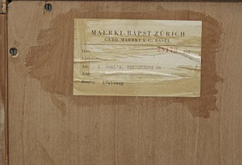 kirschholz kleiderschrank der 50er jahre 4669 div schr nke schrank bogen33. Black Bedroom Furniture Sets. Home Design Ideas