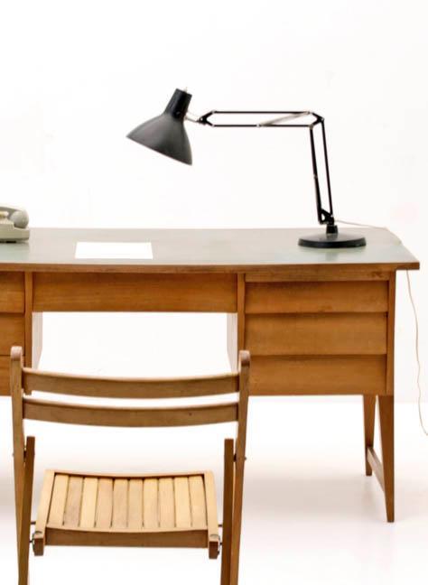 Schreibtisch aus kirschholz der 60er jahre 4673 div for Schreibtisch 60er jahre