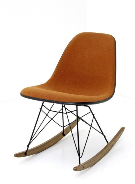 Eames Sidechair mit Rocker Base - 0