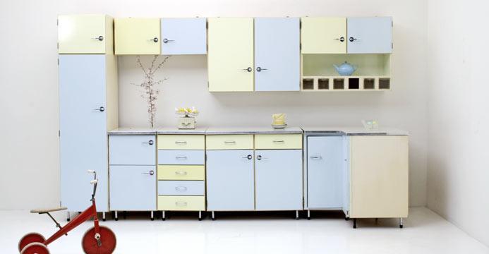 Küche der 50er-Jahre (4717) | Div.Schränke | Schrank | BOGEN33