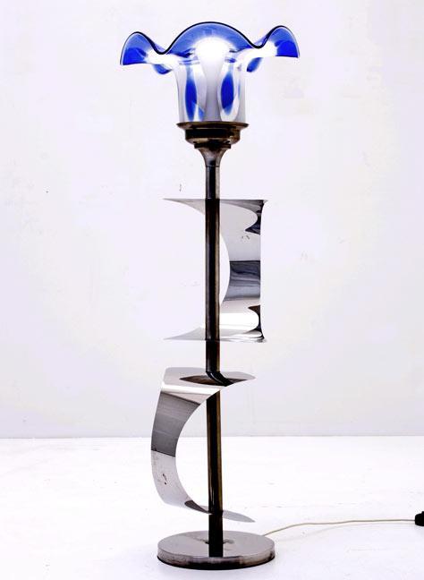 bogen33 lampen div leuchten stehleuchte murano glas. Black Bedroom Furniture Sets. Home Design Ideas