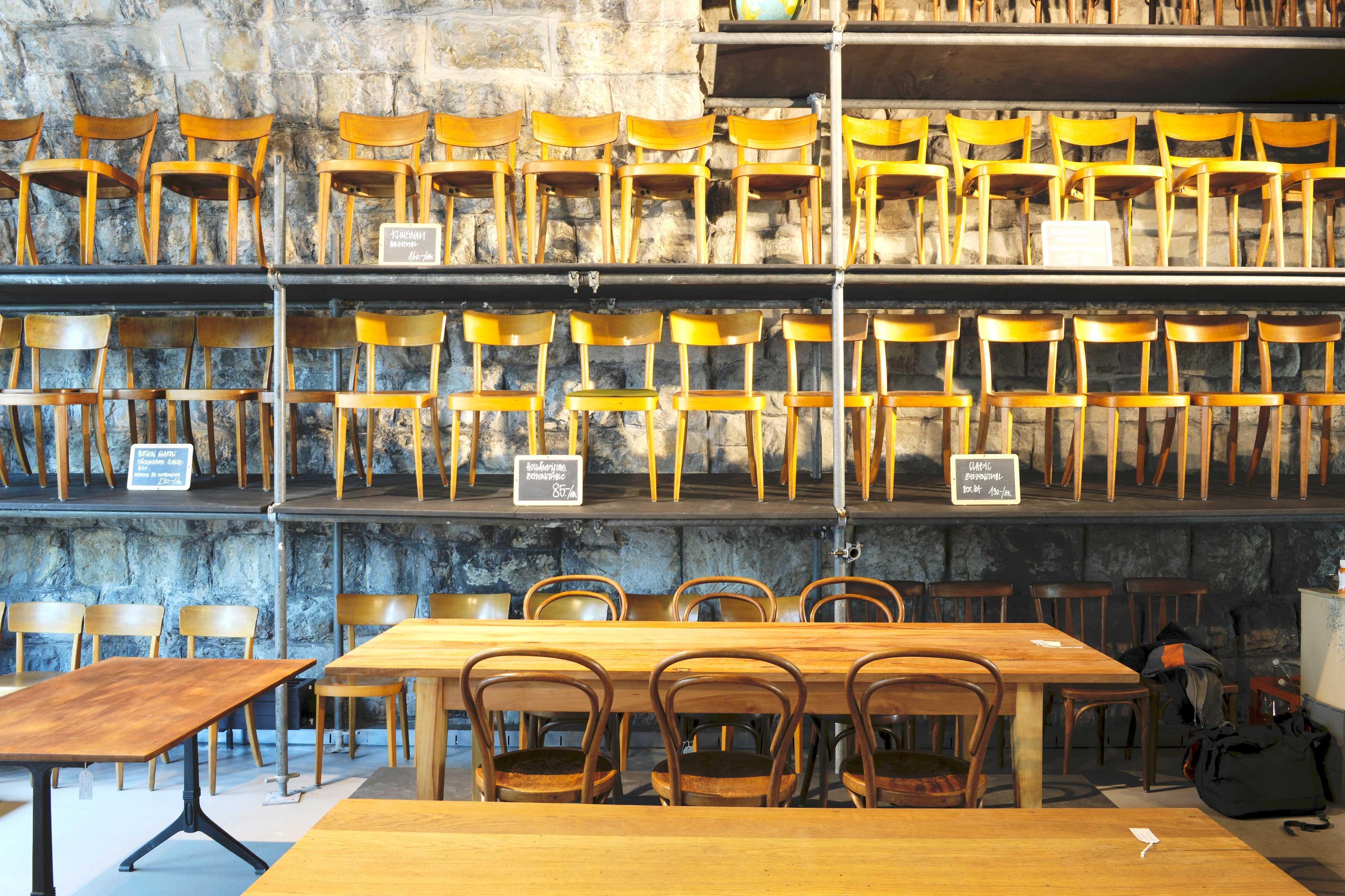 VIADUKT*3 Tisch Und Stuhl