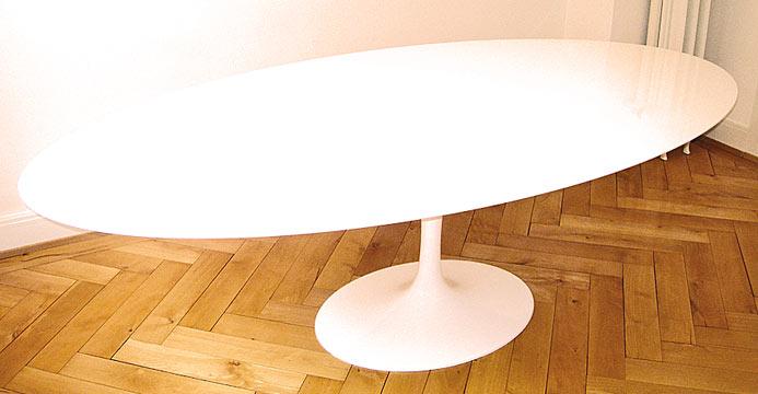 ovaler esstisch 2883 div tische tisch bogen33. Black Bedroom Furniture Sets. Home Design Ideas