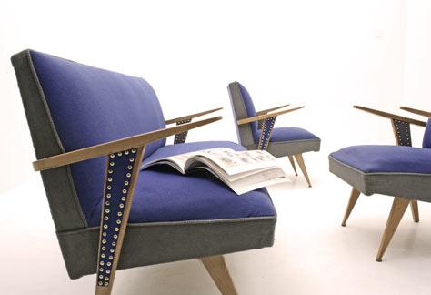 50er jahre sofagruppe 2973 div sofas sofa bogen33. Black Bedroom Furniture Sets. Home Design Ideas