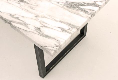 Marmortisch 2989 lounge tisch tisch bogen33 for Garten marmortisch