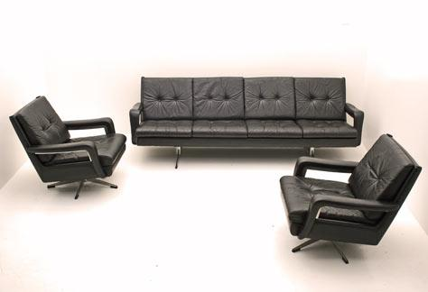 70er jahre sofa kombination 4070 leder sofas sofa. Black Bedroom Furniture Sets. Home Design Ideas
