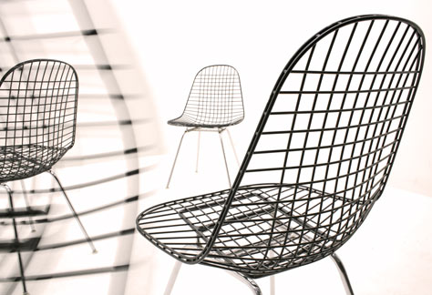 Eames Wirechair
