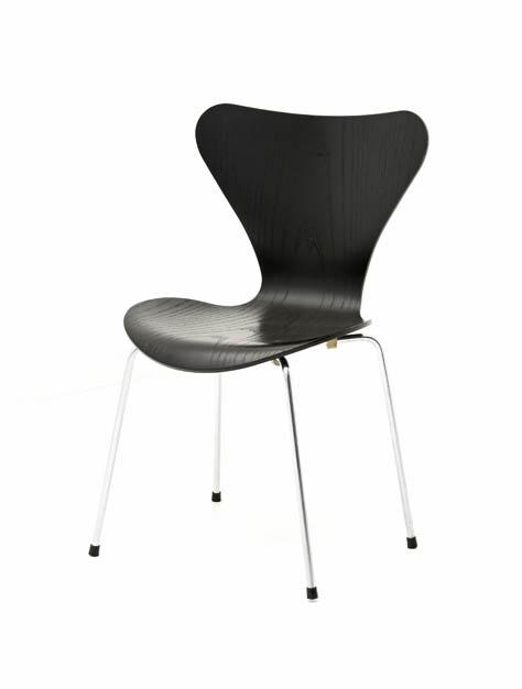 arne jacobsen 3107 5989 div st hle stuhl bogen33. Black Bedroom Furniture Sets. Home Design Ideas