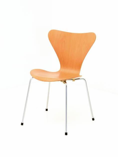 Arne Jacobsen Stuhl, Vintage, 3107 (6017) | Div.Stühle ...