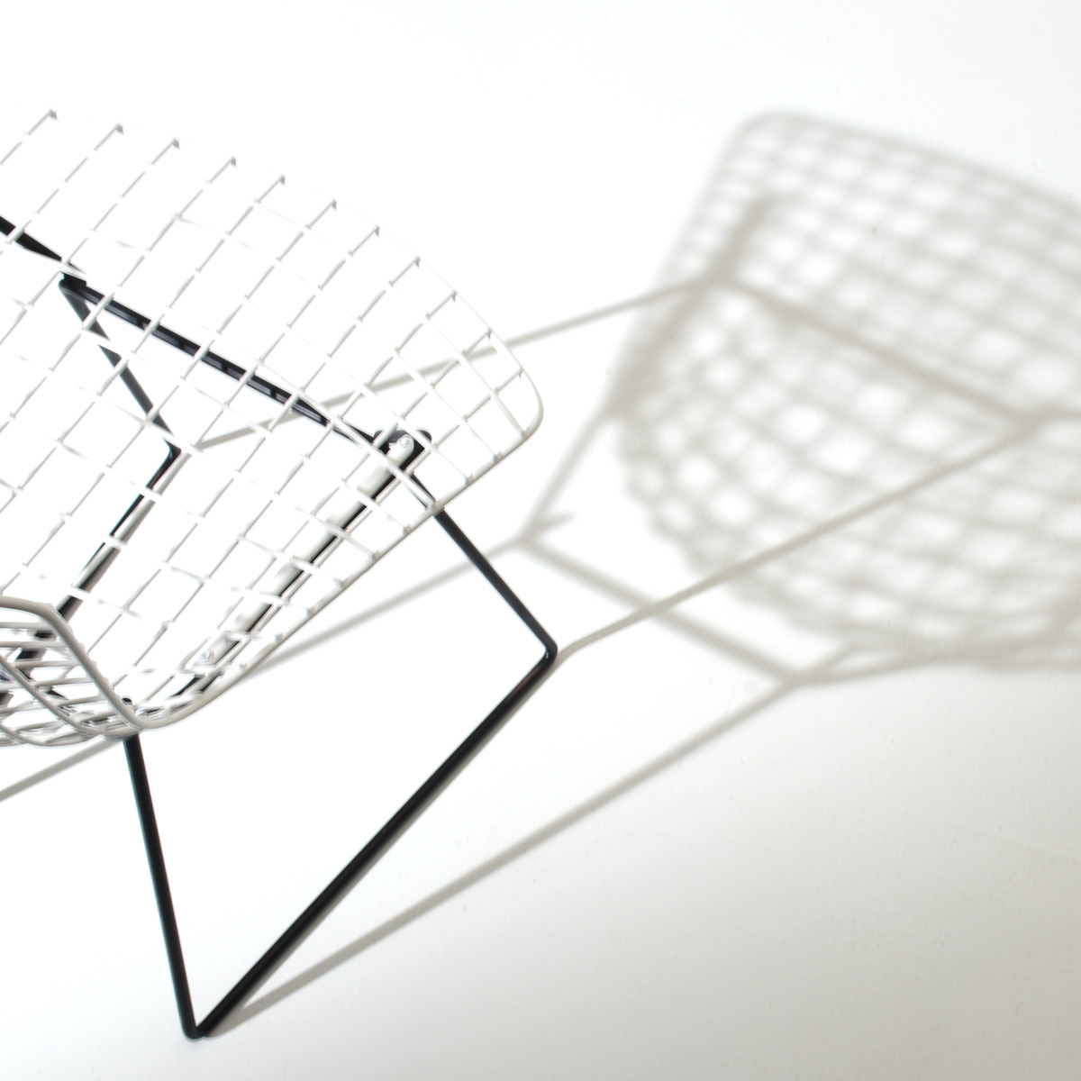 Bertoia Stühle, Knoll International, 6er Set.