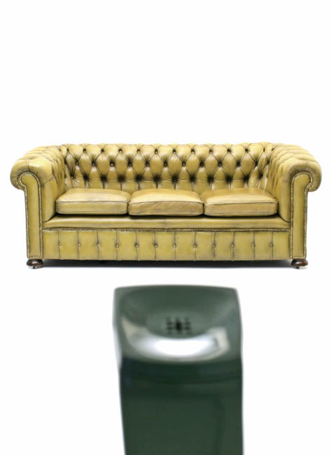 Chesterfield, Ledersofa - 1