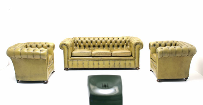Chesterfield, Ledersofa