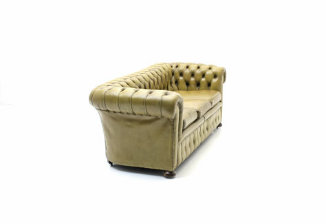 Chesterfield, Ledersofa - 3