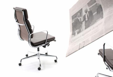 Eames Office Chair, EA 219, Softpad