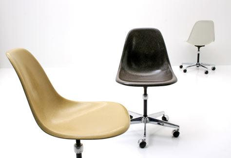 Eames Office Sidechair - 1