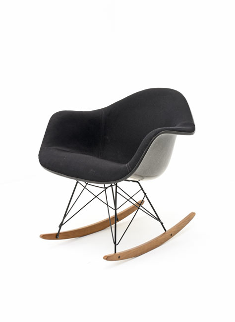 Eames Rocking Chair, Armchair - 0