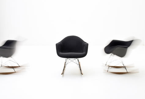 Eames Rocking Chair, Armchair - 2