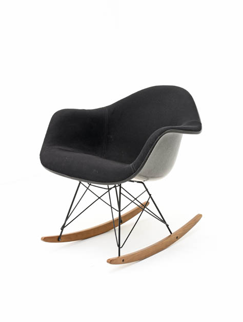 Eames Rocking Chair, Armchair - 3