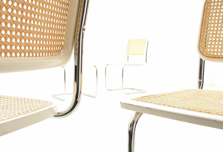 Freischwinger Stuhl 4er Set 6387 Div Stühle