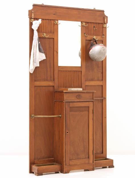 Schrank bogen33 for Garderobe jugendstil