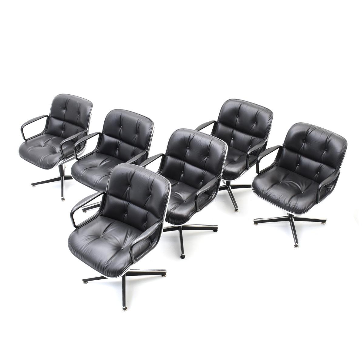 Konferenzstühle Pollock Knoll Int 6er Set 6676