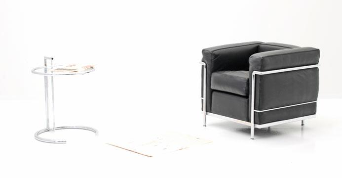 Le Corbusier Sessel 5296 Leder Sessel Sessel