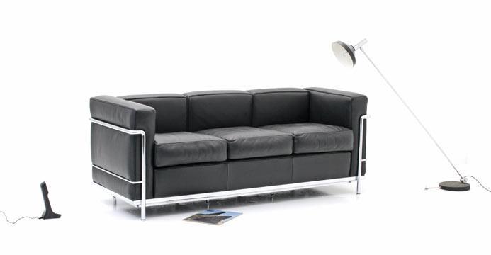le corbusier sofa 5291 leder sofas sofa bogen33. Black Bedroom Furniture Sets. Home Design Ideas