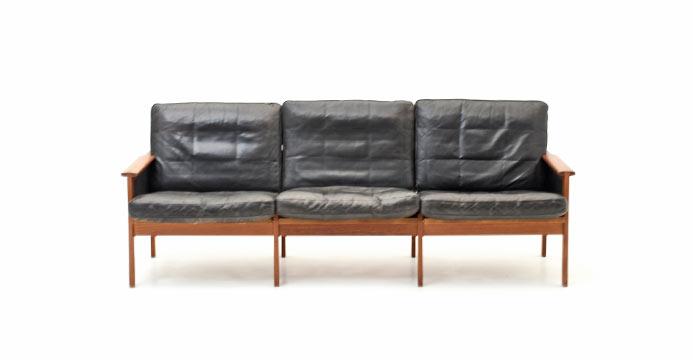 Ledersofa design  Sofa | BOGEN33