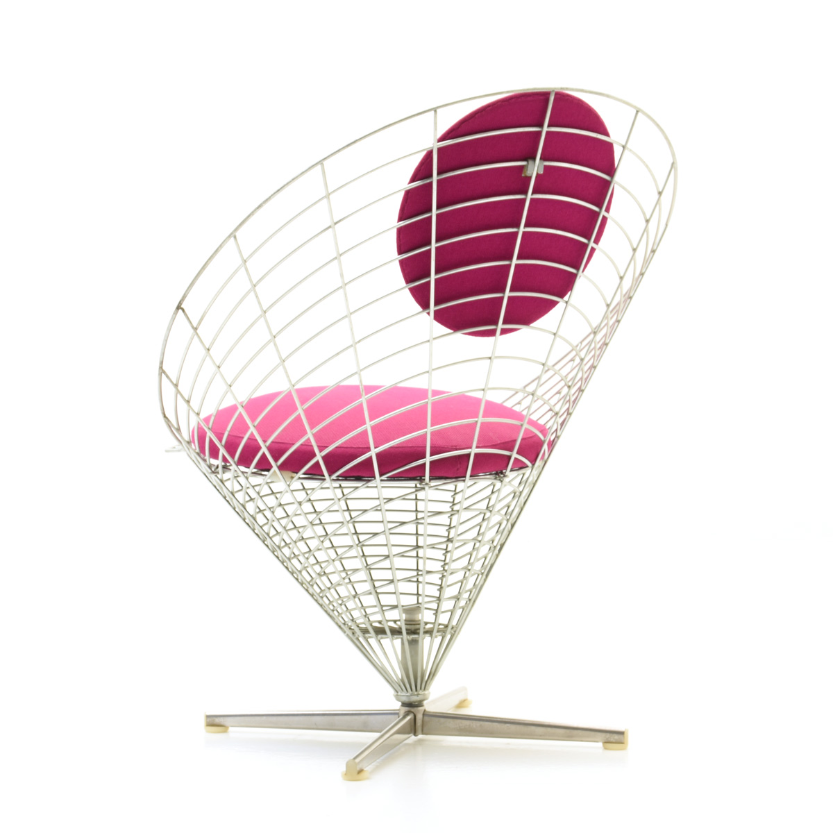 Panton Wire Cone Chair, 1. Ed.