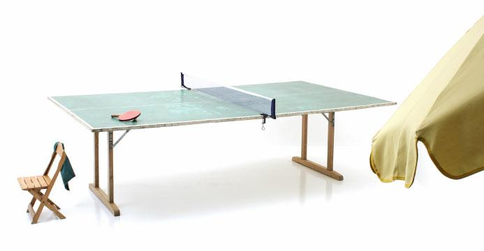 Ping-Pong Tisch, Holz - 1