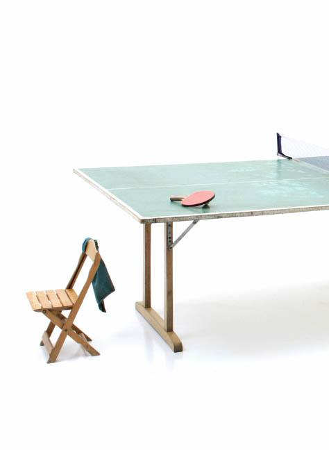 Ping-Pong Tisch, Holz - 3