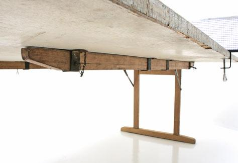 Ping-Pong Tisch, Holz - 2