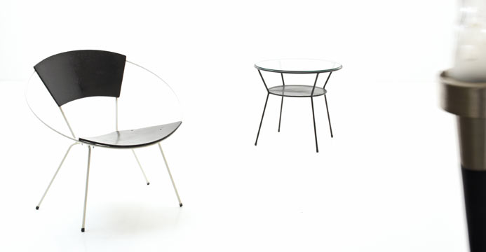 Ring-Chair, Neuauflage - 2