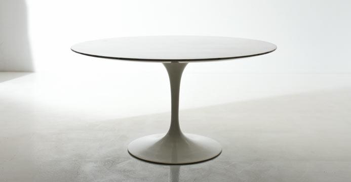 Tisch bogen33 for Runder tisch tulip design eero saarinen