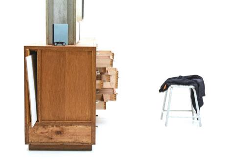 Schubladen m bel 5873 sideboard schrank bogen33 for Sideboard 40er