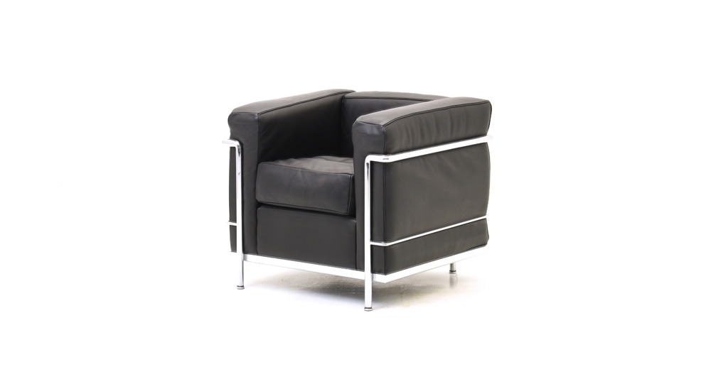sessel le corbusier lc2 cassina 6441 leder sessel. Black Bedroom Furniture Sets. Home Design Ideas