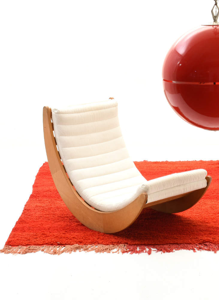 Sessel, Verner Panton, Rocking Chair.
