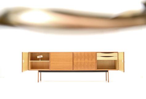 sideboard 60er jahre 6052 sideboard schrank bogen33. Black Bedroom Furniture Sets. Home Design Ideas