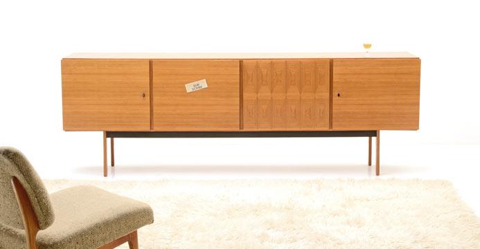 Sideboard 60er Jahre sideboard 60er jahre 6052 sideboard schrank bogen33